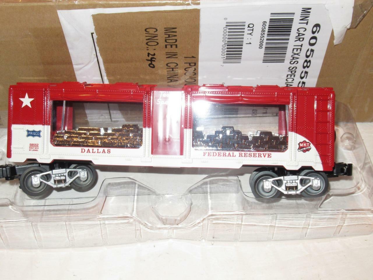 Lionel limitata Prod.  58552TCA Lone estrella Texas specialeee argentoo Nuovo di zecca autoNuovoB6