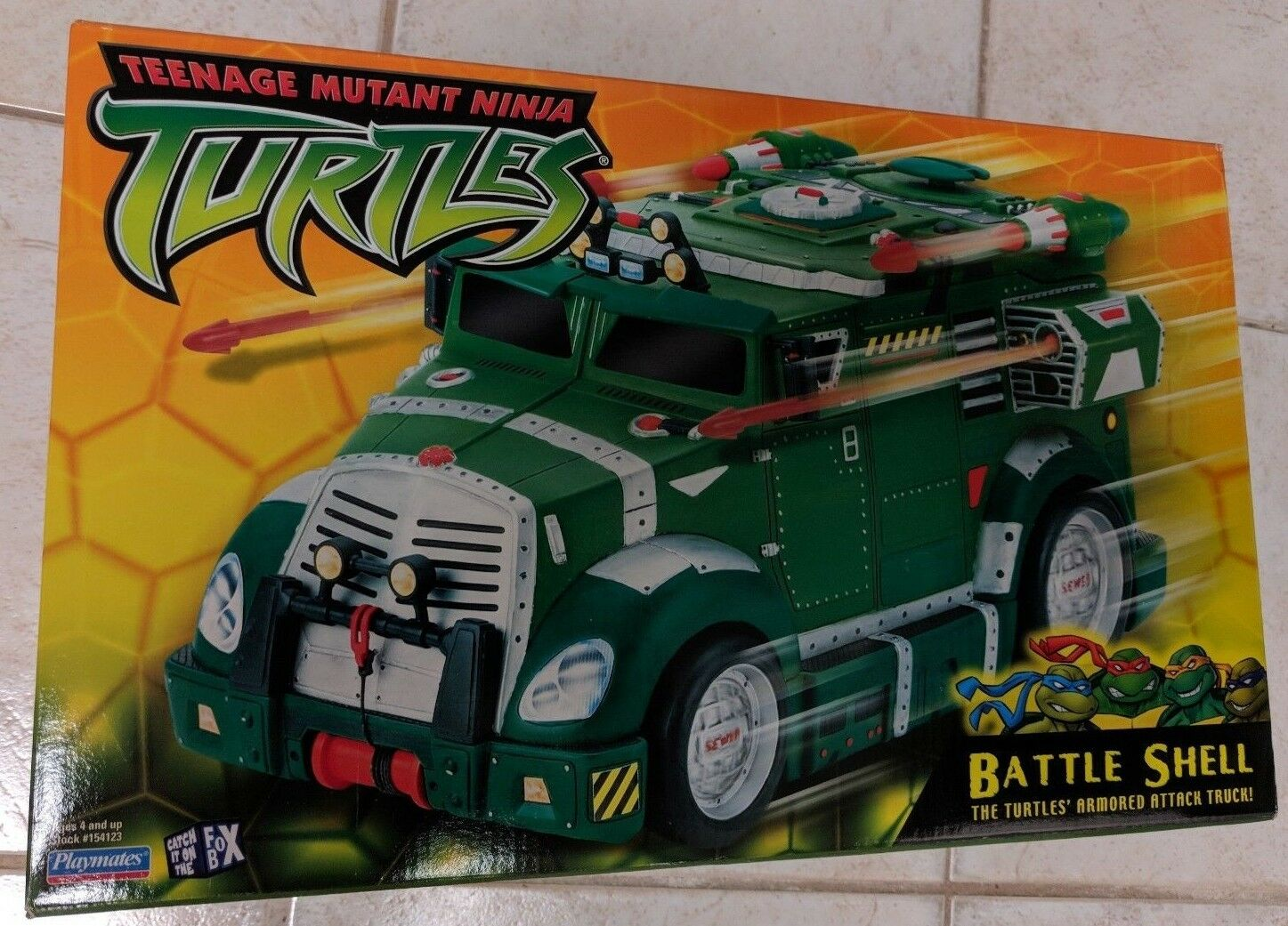 Teenage Mutant Ninja Turtles (TMNT) Battle Shell 2003 Unopened