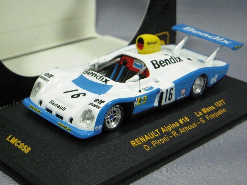 IXO 1 43 Renault Alpine LM 1977 D. Pironi R. Arnoux G. FREQUELIN de Japón