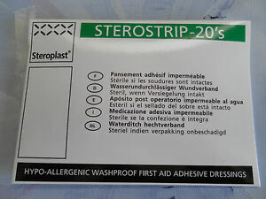 STEROSTRIP-100-Assorted-Waterproof-Washproof-Plasters-in-5-Packs-of-20