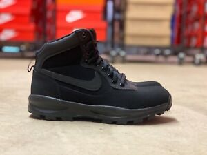 Nike-Manoadome-Mens-Hiking-Trail-Work-Boots-Triple-Black-844358-003-NEW-Multi-Sz