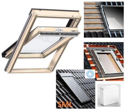 EDZ 0000 Velux Dachfenster aus Holz Thermo Schwingfenster GGL 3070 GZL 1051