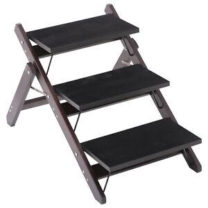 2-in-1-3-Step-Pet-Stair-Ramp-Dog-Cat-Climb-Platform-Portable-Fold-Flat