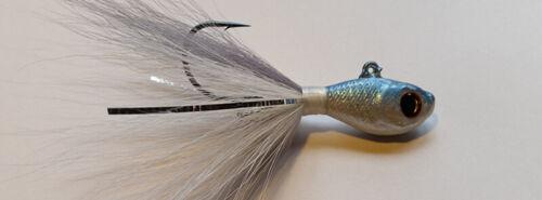 environ 28.35 g 1 s/&s rattletail Bucktail Jig 1 oz Mulet couleur-réductions Free Ship