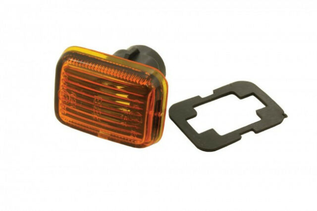 TRA012 x 1 *FORD TRANSIT CLEAR SIDE INDICATOR WING REPEATER