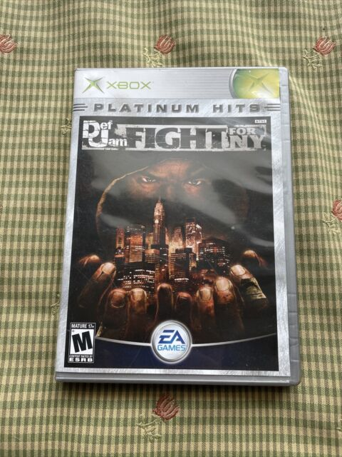 Def Jam: Fight for NY (Microsoft Xbox, 2004), Game No Manual NOT READING