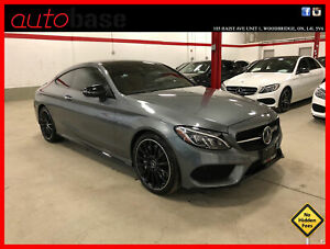 2018 Mercedes Benz C-Class C43 AMG NIGHT EDITION DISTRONIC AMG DRIVER