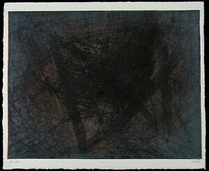 DDR-Kunst-Informel-A-243-1989-Unikatdruck-Ralf-KLEMENT-1950-D-handsigniert