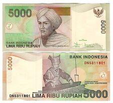 INDONESIA 5000 5,000 RUPIAH 2011 P 142 UNC