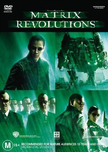 1 of 1 - Matrix Revolutions (DVD, 2008, 2-Disc Set)