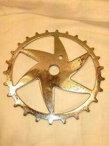 Rollfast-Hawthorne-Bicycle-Skip-Tooth-Sprocket-vintage-Bicycle-Sprocket-pre-war