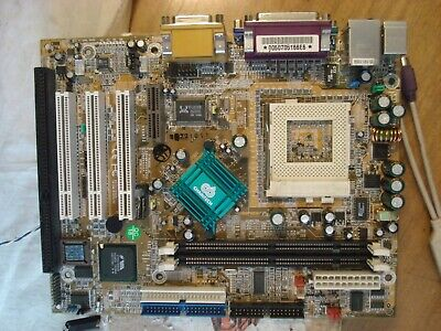 RAM 256b Mb CPU Celeron 1.2 Ghz CHAINTECH 6AIV2T