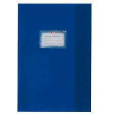herlitz Heftschoner DIN A5 geprägt PP dunkelblau Bast