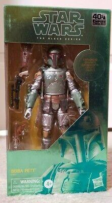 "Star Wars Black Series 40th Boba Fett Han Solo Carbonite 6"" Figures ESB Loose"