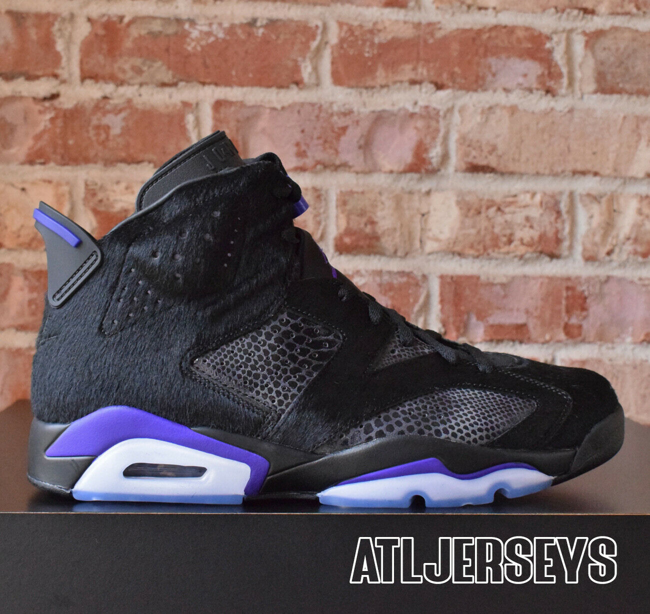 Social Status x Nike Air Jordan 6 VI Retro Black Concord AR2257-005 Size