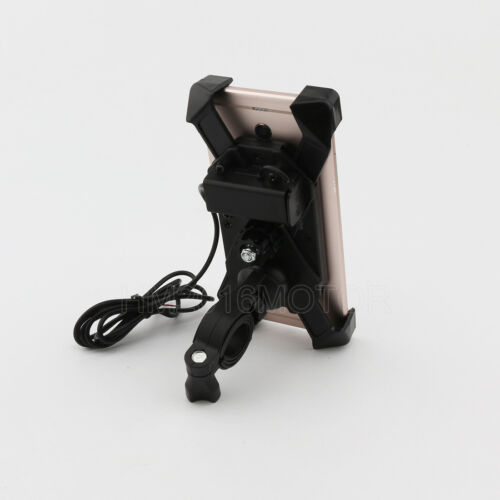 Motorcycle USB Charger Cell Phone Holder For Suzuki Katana GSX 600 650 750 1100