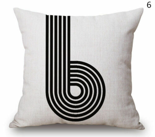 Quotes Cushion Cotton Decor Cover Sofa Throw Pillow Words Case Home Cool Linen