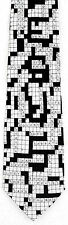 Christian Crossword Mens Silk Neck Tie Puzzle Necktie Religious Words Gift New