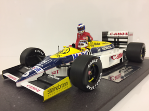 Minichamps 117860106 Honda de Williams FW11 Keke Rosberg con N PIQUET Alemán GP 86