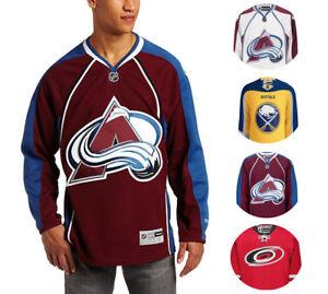 NHL Men's Center Ice Team Color Premier Hockey Jersey [Pick 1] MSRP $130