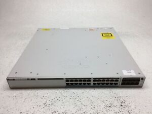 Cisco-Catalyst-C9300-24UX-E-10Gb-Network-Switch-w-C9300-NM-8-10G-Module-NO-PSU