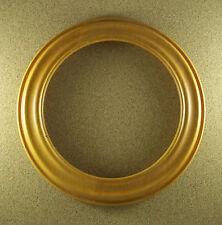 "Round VAN HYGAN & SMYTHE Frame Holder Medium Brown For 8 1/4"" to 8 1/2"" Plate"