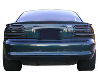 Mustang Smoked Tinted Tail Light Covers Vinyl 94 95
