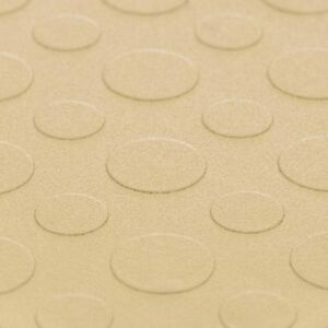 Affordable Garage Floor Tiles Coin Beige - Made In USA