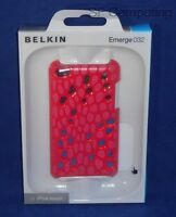 Belkin Emerge 032 Case For Apple Ipod Touch 4th Gen Paparazzi Pink