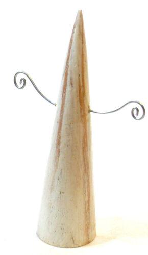 PRESENTOIR à BOUCLES D/'OREILLE BOIS porte BIJOUX ARTISANAT EARRINGS DISPLAY WOOD