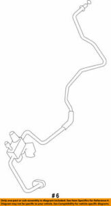 Genuine Toyota 88710-0C090 A//C Tube and Accessory Assembly