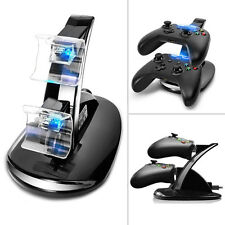 LED USB Xbox One Charger Fast Charging Stand Dock Station for Dual Controller