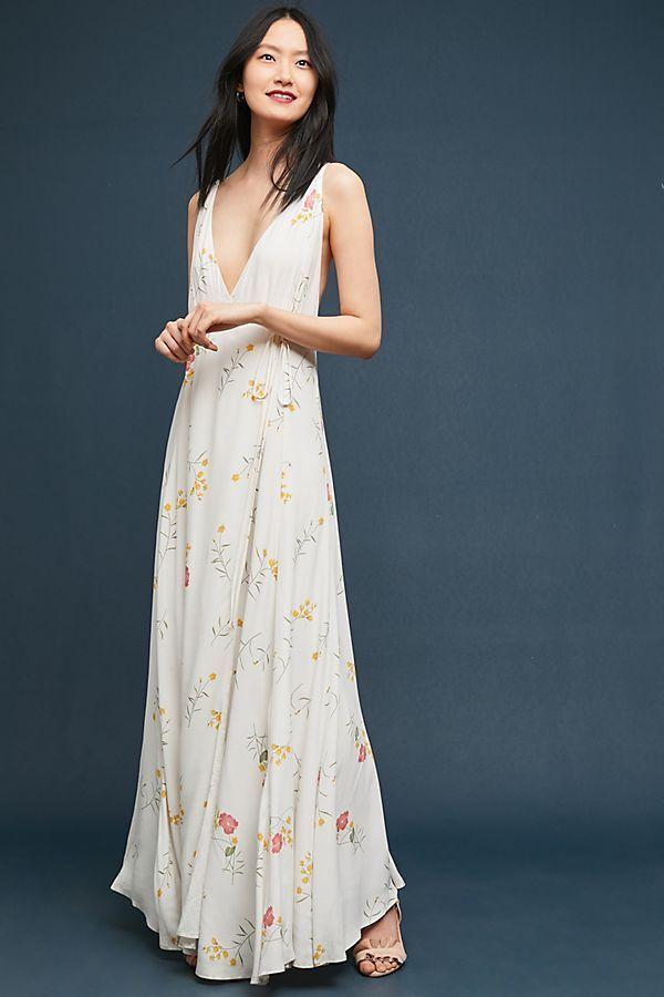 178 178 178  Anthropologie Josephine Wrapped Maxi Dress  NEW NWT XS f3de5b