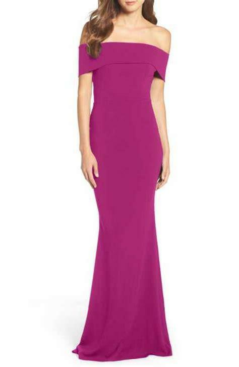 Katie May Legacy Crepe Body-Con Gown-Größe 10- (F)