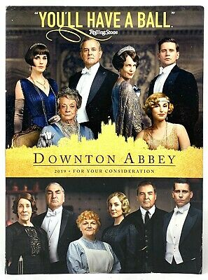 Downton Abbey 2019 For Your Consideration Dvd Ebay