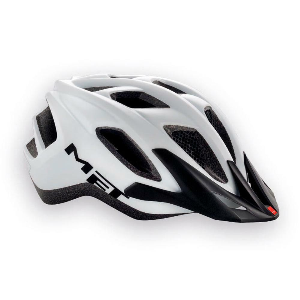 Road Bike Cycle Helmet MET  Funandgo Matt White  incredible discounts
