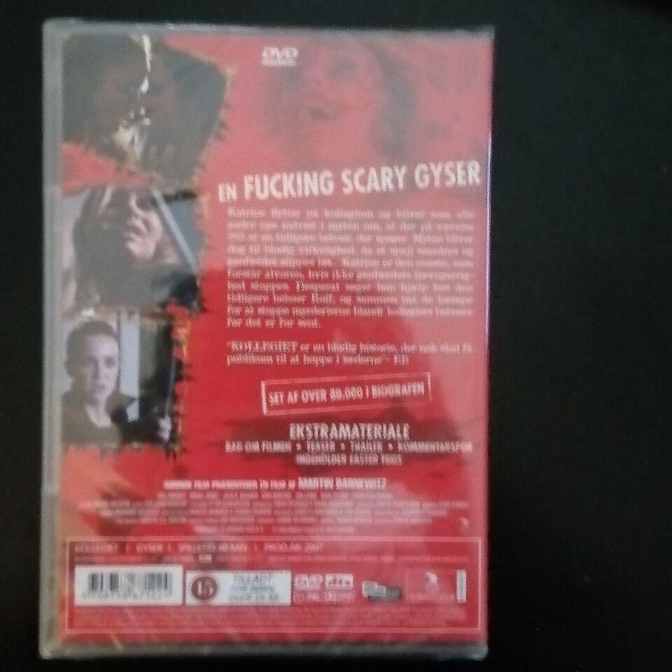 Kollegiet, instruktør Martin Barnewitz, DVD