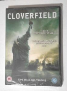 CLOVERFIELD-DVD-NEW-and-SEALED-Sci-fi-Found-footage-film