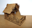 28mm-Fantasy-Tudor-Style-Small-House-T4B-Ruin-2mm-MDF-Laser-Cut-Kit thumbnail 2
