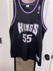 Details about Vintage Sacramento Kings Jason Williams Champion Basketball Jersey #55 NBA 44 L