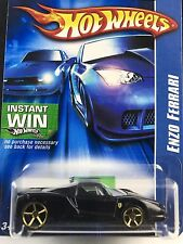 Hot Wheels 2006 Enzo Ferrari Black Gold Wheels 194/223