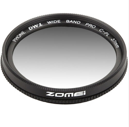 Zomei Circular Polarizer CPL Lens 37mm for iPhone 7 6S Samsung Galaxy Huawei