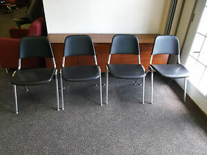 Exceptionnel Image Is Loading KNOLL Stacking Chair Don Albinson Model 1601
