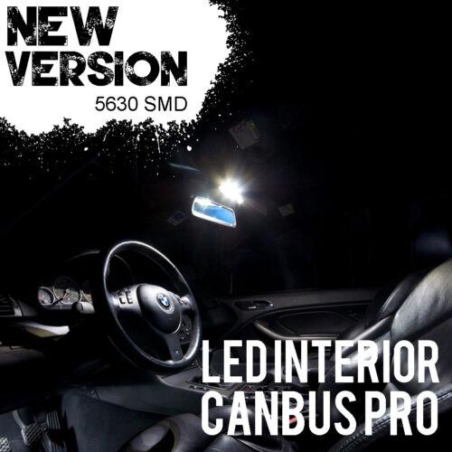 12pcs White For Chevy Corvette C6 LED Error Free Interior Light Kit 2008-2013