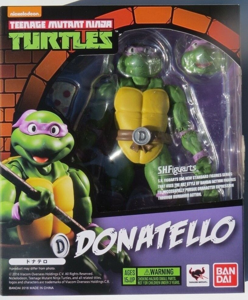 S.H.FIGUARTS TEENAGE MUTANT NINJA TURTLES DONATELLO TMNT