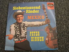 Peter Hinnen-Siebentausend Rinder 7 PS-1963 Germany-Red Ariola-10 144 AT