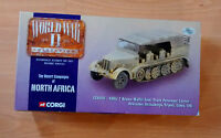Corgi Wwii German Sdkfz S7 Krauss Maffei Semi Trail Personnel Carrier 1:50