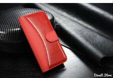 GUSCIO per cellulare custodia per Apple iPhone 6 Guscio Case Wallet-Rosso (21ro)