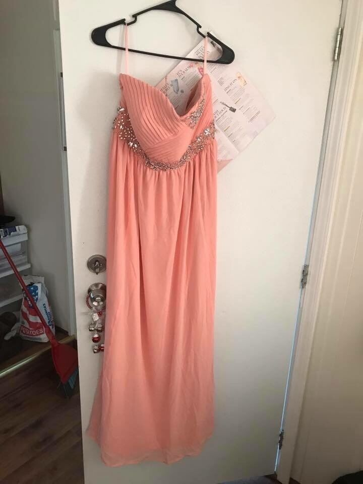 Size 16 peach dress from torrid