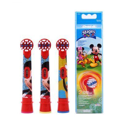 Recambio Dental cepillo de dientes electrico para niños ORAL-B EB-10-3 FFS